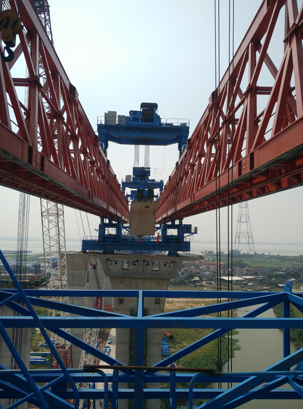 Segmental Launching Gantry5